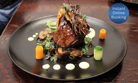 Award Winning Two Course Dinner for 2 ($59), 4 ($115) or 8 People ($223) at Jackson Cafe & Bistro (Up to $436 Value)