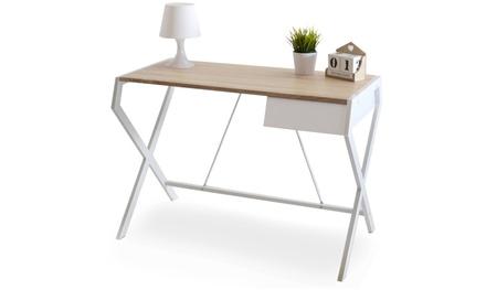 selsey living schreibtisch groupon goods. Black Bedroom Furniture Sets. Home Design Ideas