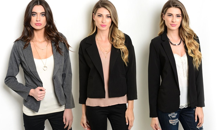 Women's Junior Blazers | Groupon