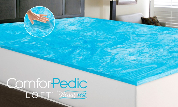 Up To 79 Off On Gel Memory Foam Mattress Topper
