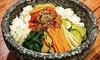Koreanisches 3-Gänge-Menü