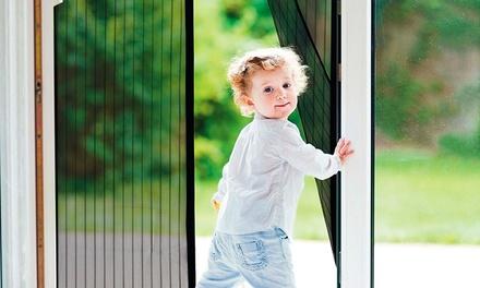 1, 2 o 3 cortinas mosquiteras para puertas con cierre magnético
