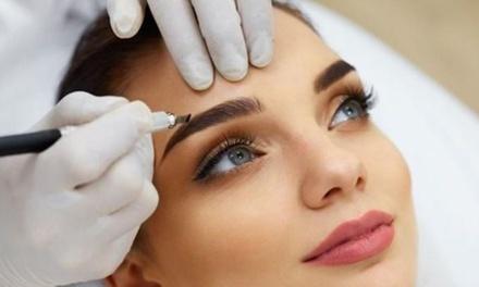 Microblading des sourcils, méthode poil à poil à 79,90 € à l'institut Estudio del Tattoo