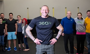360fit: 10 Boot-Camp Classes or One Month of Unlimited Boot-Camp Classes at 360fit (Up to 76% Off)
