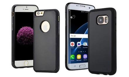1 o 2 fundas antigravedad con ventosa para iPhone o Samsung