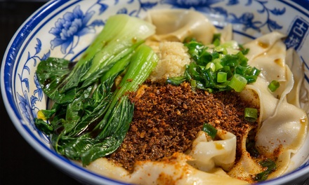 Noodles Topped with Chilli for One $9.50 or Two People $19 at Biang Biang Westfield Myer Sydney Up to $23 Value