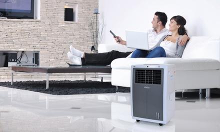 Climatizador portátil con funciones de calefacción y refrigeración