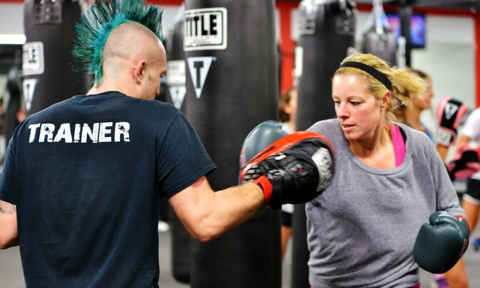 Title Boxing Club - Multiple Locations: Two Weeks of Unlimited Boxing Classes or  Month of Adult or Kids'  Classes  at Title Boxing Club (Up to 67% Off)