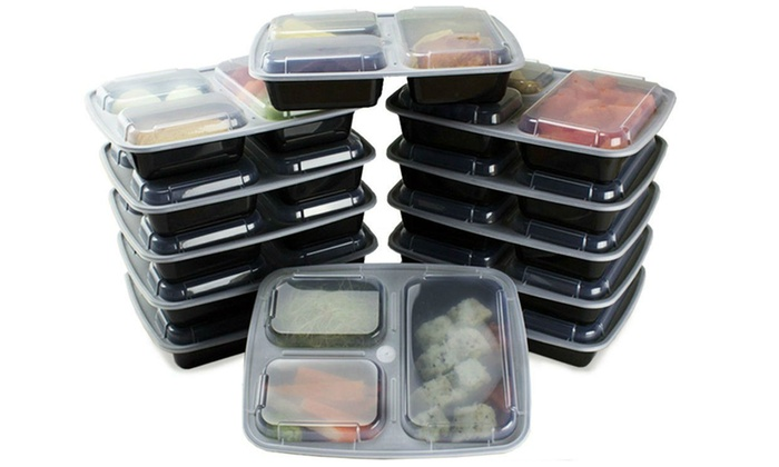 Up To 58 Off on Food Containers 14 20 28 pc Groupon Goods