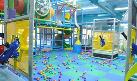 Five or Ten Visit Play Pass at Hooray Playground (Up to 47% Off)