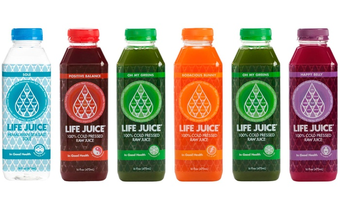 Life Juice: Three-Day Juice Cleanse for One or Two from Life Juice (Up to 36% Off)