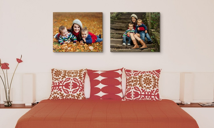 "Canvas on Demand: One or Two 16""x20"" Custom Premium Canvas Wraps from Canvas on Demand (Up to 75% Off)"