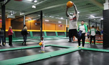 image for Two, Four, or Six 60-Minute Jump Passes at Rockin' Jump - East Haven (Up to 47% Off)