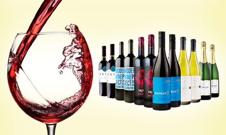 6 or 12 Bottles of Premium Wine from Heartwood & Oak Wine Shop (Up to 74% Off). Shipping Included.
