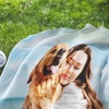 Up to 94% Off Personalized Picnic Blankets with Custom Text