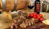 Menu grigliata di carne e vino