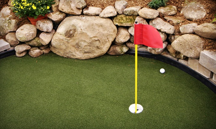 Mt. Freedom Golf - Randolph: Mini Golf or Par-3 Golf for Two or Four, or Two Buckets of Range Balls at Mt. Freedom Golf in Randolph (Up to 58% Off)