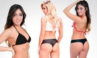 Desde $49 por pack de bikini a elección para retirar en sucursal