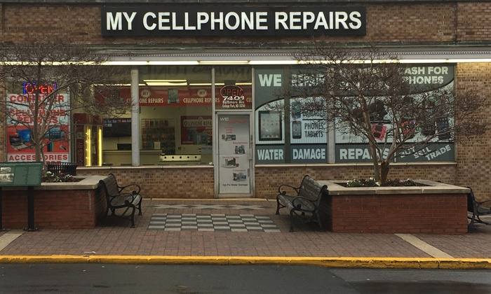 iPhone Screen Repair at My Cellphone Repairs. Seven Options Available.