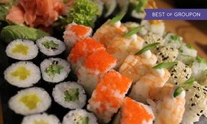 Goma Sushi: Japońska uczta: 27 kawałków sushi i 2 sałatki za 59,99 zł oraz więcej opcji w Goma Sushi