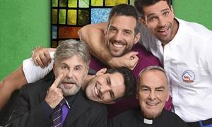 Veiga Produções Artísticas:  5 Homens e um Segredo – Theatro Pedro II: 1 ingresso para a peça, dia 23 de setembro, às 21h