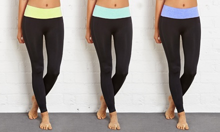 3-Pack of Women's Tummy Control Leggings