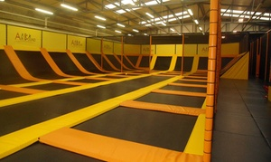 AirBound Trampoline Park: One-Hour Trampoline Park Access for up to Four at AirBound Trampoline Park