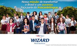 Wizard Sobradinho: Wizard – Sobradinho: 1 ano de curso de inglês + material anual + Wizpen