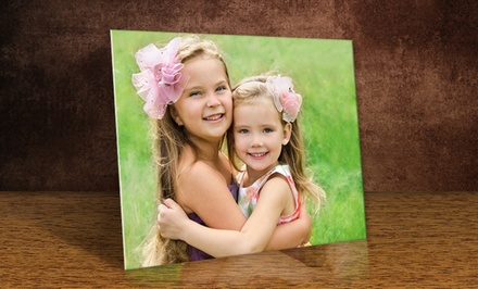Custom Photo Print on Metal from PrinterPix; 10