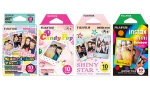 Fujifilm Instax Mini Instant Film Set (4-Pack)
