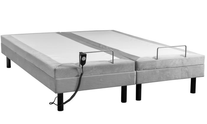 lit panaflex sampur lectrique groupon. Black Bedroom Furniture Sets. Home Design Ideas
