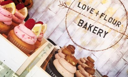 image for $3 for $6 Worth of Cupcakes — Love+Flour Bakery