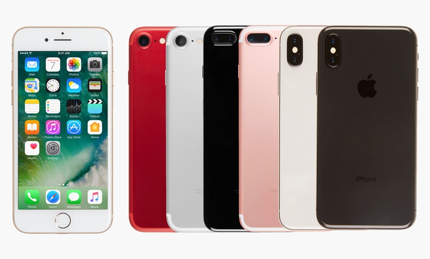 Apple Iphone 7 7 Plus 8 8 Plus X Gsm Unlocked Refurbished A Grade Groupon