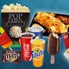 Snacks und Getränke im UCI Kino