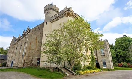 groupon.co.uk - Scottish Highlands: Double Room for Two with Breakfast and Option for Food and Drink Voucher at Tulloch Castle Hotel