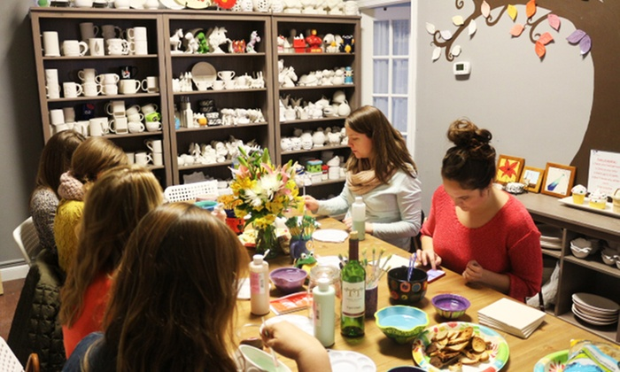 Jimmy Potters Studio - Multiple Locations: Pottery at Jimmy Potters Studio (Up to 60%). Three Options Available.