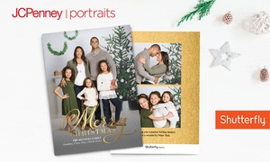 Up to 81% Off Photo Session + Holiday Cards—JCPenney Portraits at JCPenney Portraits, plus 6.0% Cash Back from Ebates.