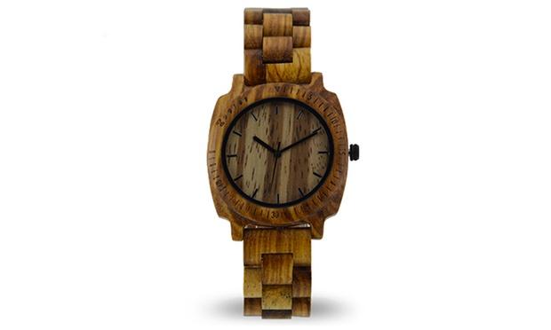Groupon orologio legno for Orologio legno amazon