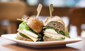 $4 of Tasty Sandwiches and Chips ($7 Value)— 718BrewCafe