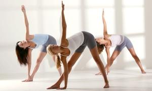 Moksha Yoga: One or Two Months of Unlimited Yoga at Moksha Yoga (78% Off)