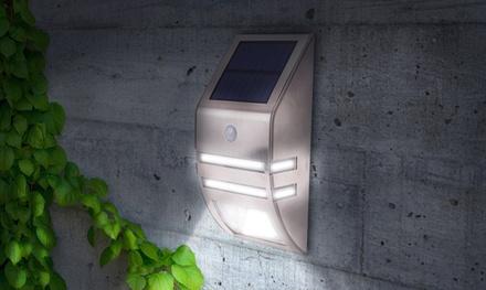 1 Luce LED da esterno ad energia solare con sensore di movimento