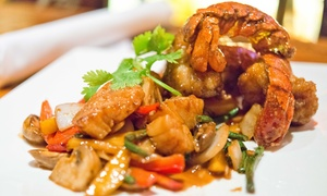Wild Ginger Huntington: $30 Worth of Pan-Asian Dinner Cuisine at Wild Ginger