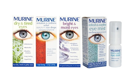 Murine Eye Drop Range