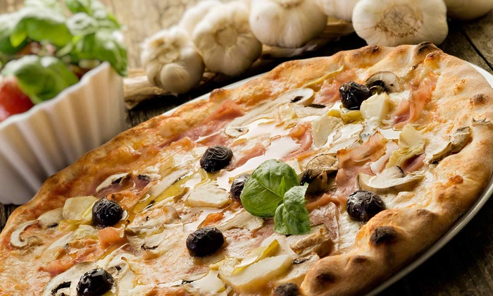 Randy's Wooster St. Pizza Shop - Manchester: Brick-Oven Pizza for Dinner at Randy's Wooster St. Pizza Shop (50% Off)