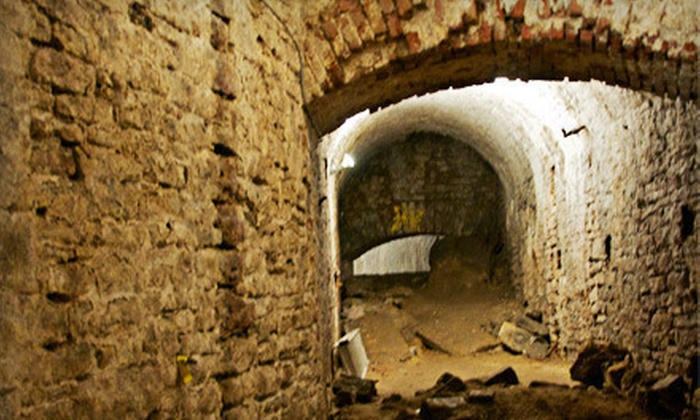 Queen City Underground - American Legacy Tours: $20 for a Queen City Underground Tour for Two from American Legacy Tours ($40 Value)