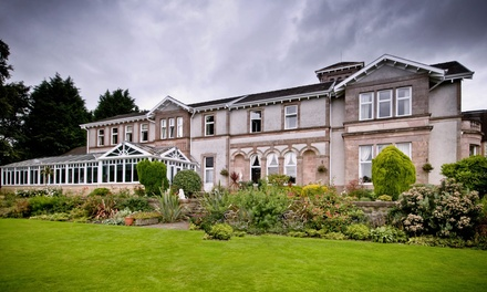 Helensburgh: Stay For Two With Breakfast, Wine and Late Check-Out; With Option For Dinner at Rosslea Hall Hotel