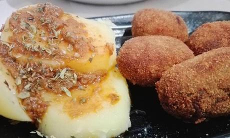 Menú vegetariano para 2 o 4 personas con entrantes, principal, postre y bebida desde 19,95 € en Abok2