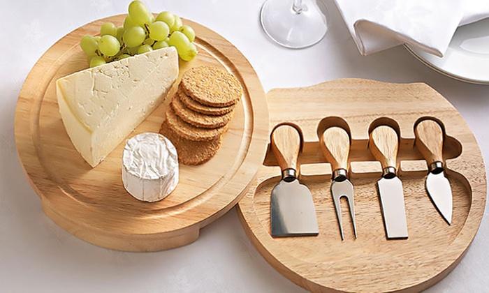 Set de cuchillos para queso groupon - Cuchillo cortar queso ...