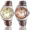 Adee Kaye Men's Panthera Crystal Quartz Watch