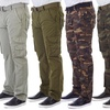 Xray Men's Belted Cargo Pants